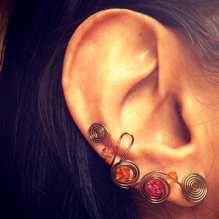ear cuffs!